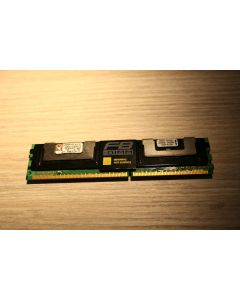 KINGSTON 1GB PC2-5300F 2RX8 DDR2 ECC DIMM MEMORY KVR667D2D8F5/1G
