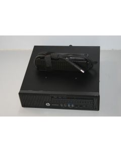 HP EliteDesk 800 G1 USDT / Intel Core i5-4570S QC @ 2.90Ghz / 4GB-R / 500GB / Multi / Win7Pro / AC E7D00AW#ABD