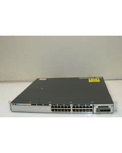 CISCO Catalyst 3750X 24 Port Data LAN Base / 1x PSU / Rackmount WS-C3750X-24T-L