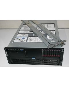 HP Proliant DL580 G5 / 4x Intel Xeon E7330 QC @ 2.4GHz / 16GB / 8x 146GB / DVD / 4x PSU / Rails 438087-421