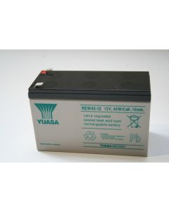YUASA 12V 45W/Cell 10min Lead-Acid Rechargeable Battery REW45-12